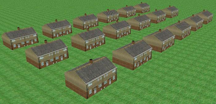 Nom maison anglaise moderne en briques peters house - Maison anglaise typique ...