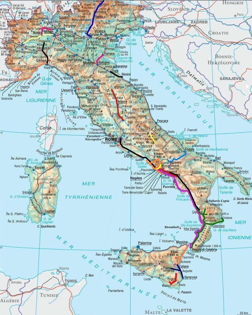 Carte_Italie on World Map Activity